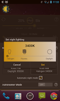 Screenshot of Lux Auto Brightness