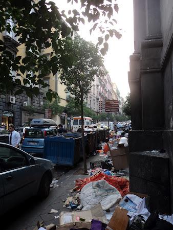 Napoli - Criza gunoiului