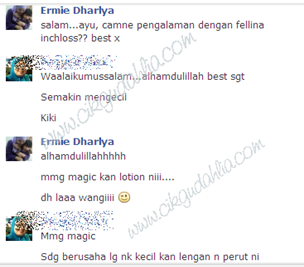 testi inchloss ayu