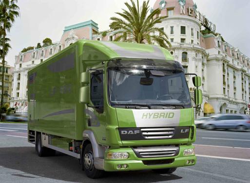 Camiones DAF LF Hibridos