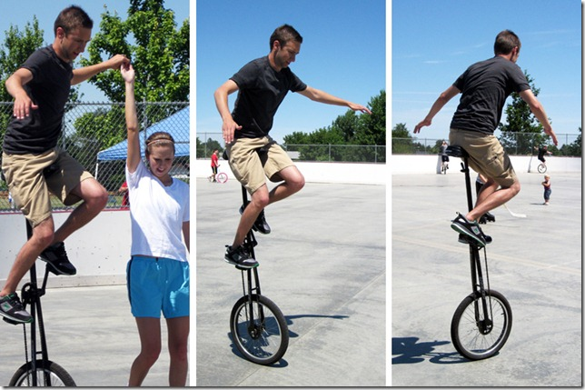 Kyle Unicycle