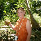 Kokosnusscocktail direkt aus der Nuss © Foto: Angelika Krüger | Outback Africa Erlebnisreisen