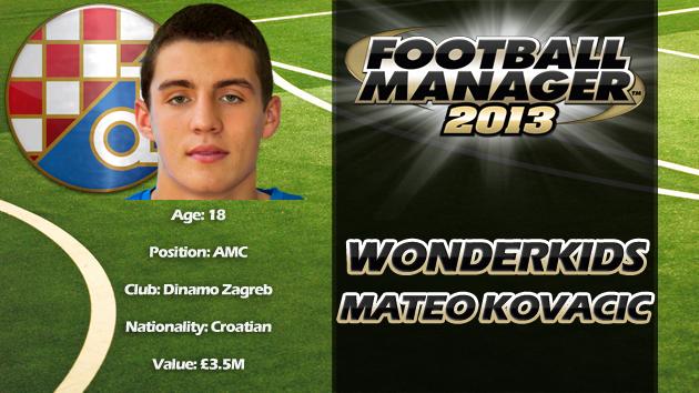 FM13 Wonderkid Review - Mateo Kovacic