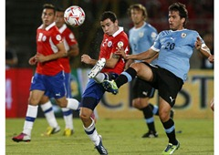 Chile 2 - 0 Uruguay, Fecha 12  Eliminatoria Sudamerica
