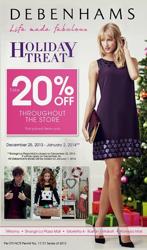 EDnything_Debenhams Holiday Treat