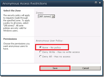 6 - Anonymous Access Restrictions