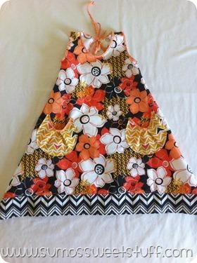Keyhole Dress - www.sumossweetstuff.com #sewing