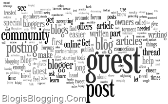 5 Benefits of Guest posting