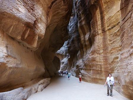 Obiective turistice Petra: Siq