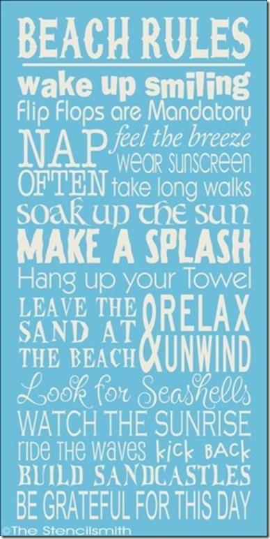 beachrules