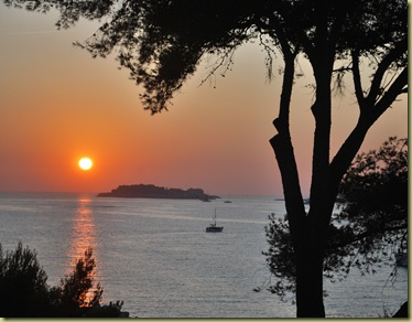 2011 - Fall Vacation - Sunset Bandol 1