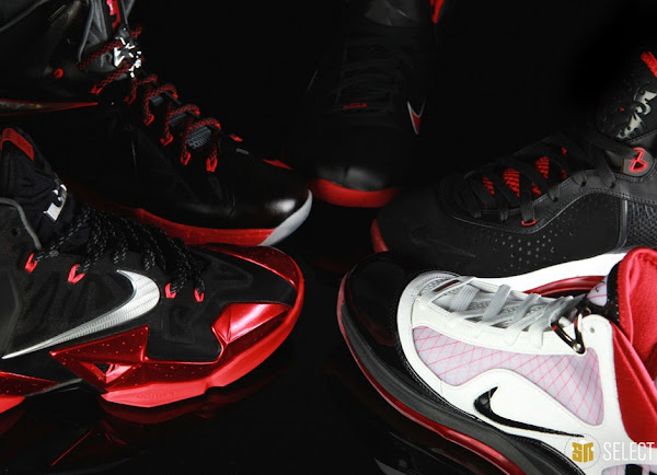 The Petrie Era Evolution of NIKE LEBRON VIIXI by SN Select