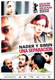 poster Nader y Simin