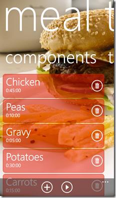 ComponentsListScreenshot