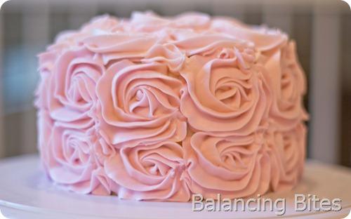 Rosette Cake 1