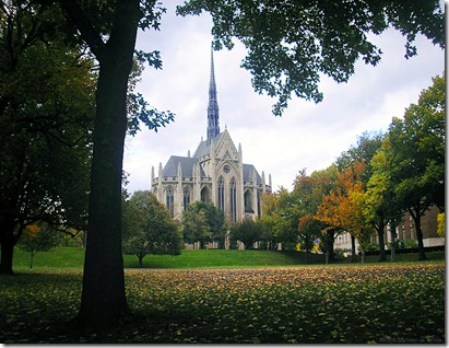 Heinz Chapel in Fall