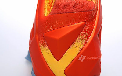 nike lebron 11 gr atomic orange 2 11 forging iron A Sizzling Look at Nike LeBron XI Forging Iron