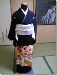 略礼装着から留袖の他装着付け (1)