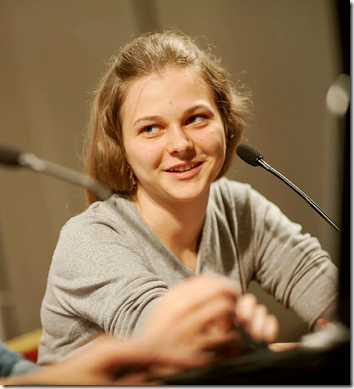 Anna Muzychuk, SLO, in third place