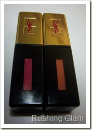 YSL Glossy Stain No. 6 and No. 14 (6)