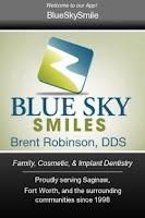 Screenshot of Blue Sky Smiles