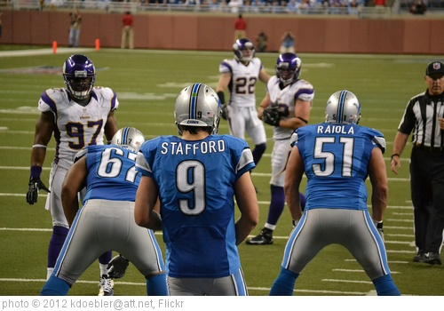 'Detroit Lions vs Minnesota Vikings 2012/09/30' photo (c) 2012, kdoebler@att.net - license: http://creativecommons.org/licenses/by-sa/2.0/