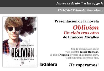 PRESENTACIÓ OBLIVION CAST