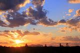 The Desert Meets The Sun & The Sky - Yulara, Australia