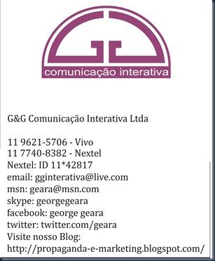 Nova assinatura GG 2