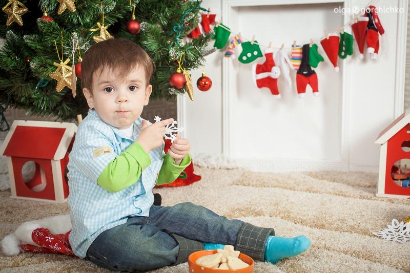 Детский новогодний фотопроект Рождественские мечты. 2. Дима-7943