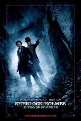 Poster Sherlock Holmes juego de sombras