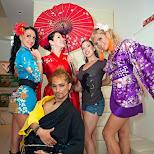 the Tokyo Fashionista crew in Aoyama, Tokyo, Japan