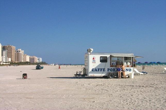cofeestand beach