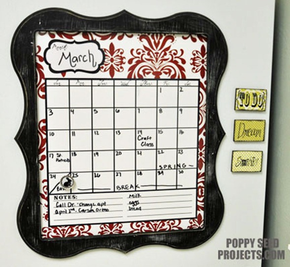 Super-Saturday-Ideas-Dry-Erase-Calendars-red-damask-eleanor-trim