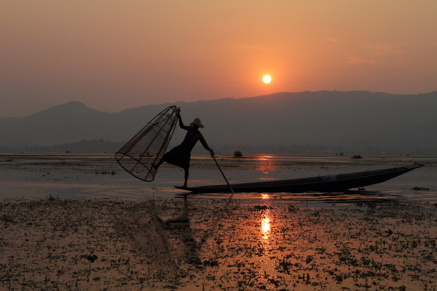Iconic Inle Moment from Burma