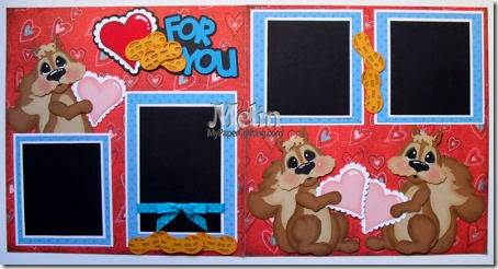 nuts for you scrapbook pagekit layout-450
