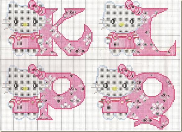 Ponto-Cruz-Abecedário-Hello-Kitty-K-L-P-Q