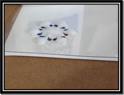 Tutorial - Glitter Glue Snowflake 4