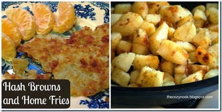 Hash Browns and Home Fries