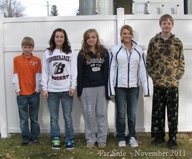 The Five November 24 2011