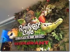 Rainforest Restaurant Dubai