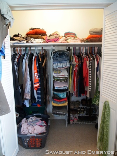 guest post how to build your own custom closet shelving. Black Bedroom Furniture Sets. Home Design Ideas