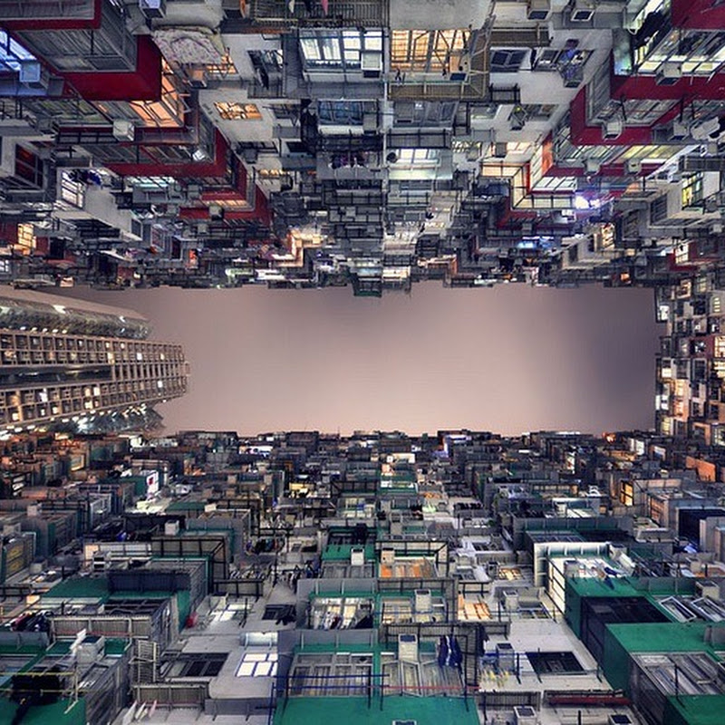 Hong Kong's Stunning Skyscrapers From an Entirely Different Perspective