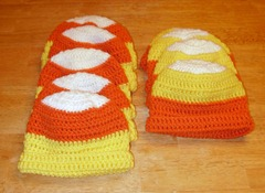 Candy corn hats
