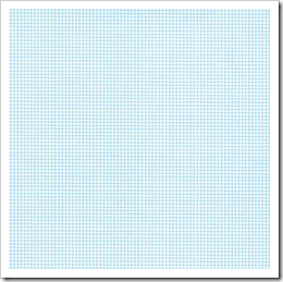Linha Basic - Quadriculada Simples (Azul Claro)