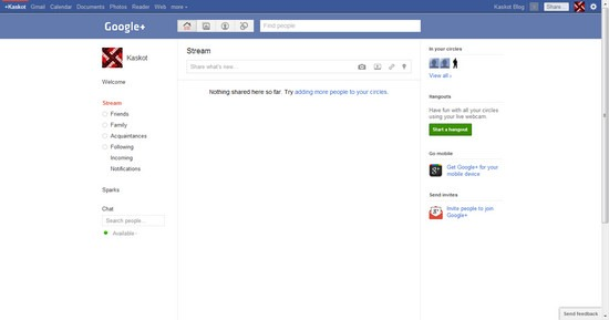 Mengubah Tampilan Google+ (Plus) Mirip Facebook