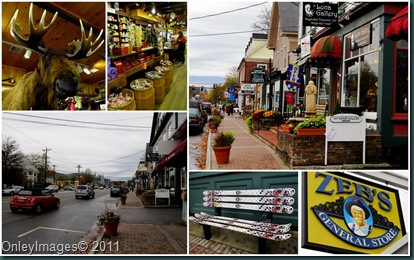 Conway NH collage