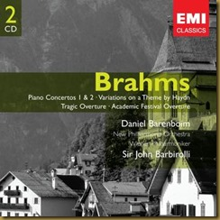 Brahms concierto piano 2 Barbirolli Barenboim