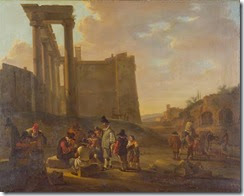 1637-BOTH-Jan---Roman-ruins-and-card-players