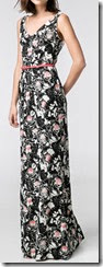 Mango Floral Long Print Dress